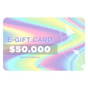 E-GIFT CARD 50K