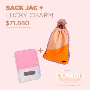 SACK JAC + LUCKY CHARM