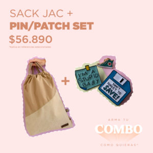 SACK JAC + PIN/PATCH SET