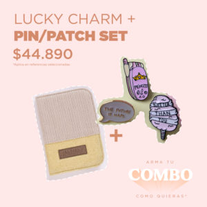 LUCKY CHARM + PIN/PATCH SET